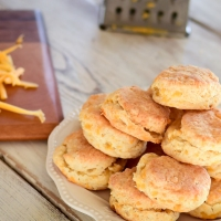 Jalapeno Cheese Mini Biscuits